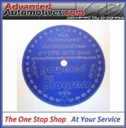 Subaru Engine Timing Degree Disc Wheel Blue Anodised Aluminium
